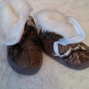 Realtree baby booties